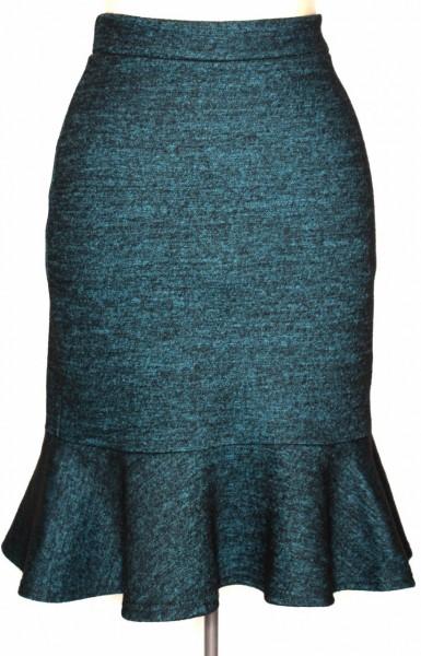 bionic-uki-teal-wool-tweed-skirt-flouncy
