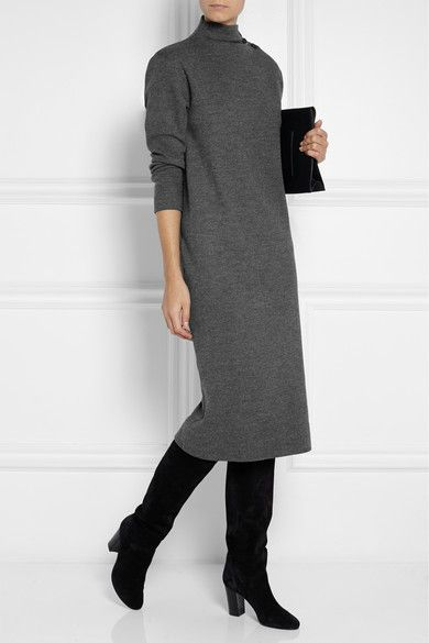 cashmere-midi-dress-grey-charcoal