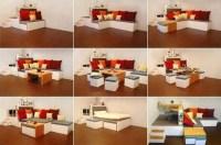 Multi-Functional Matroshka Furniture with Three Rooms ...