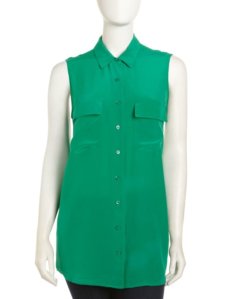 equipment-emerald-signature-sleeveless-silk-blouse