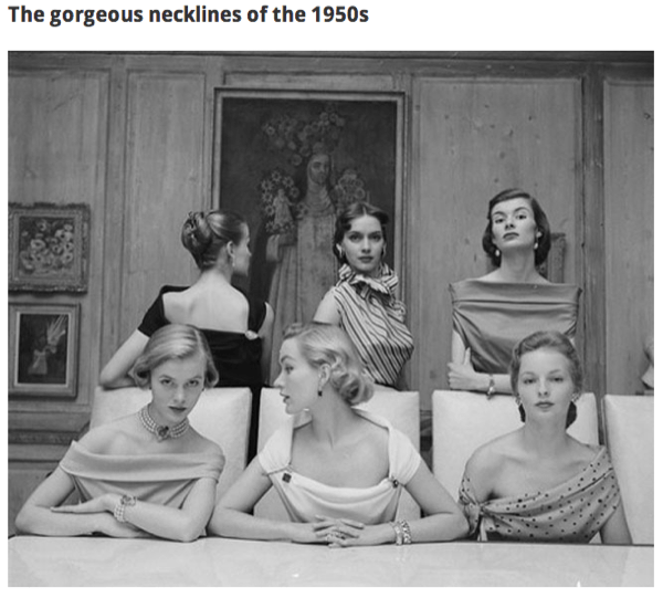 fashion-necklines-of-the-1950s