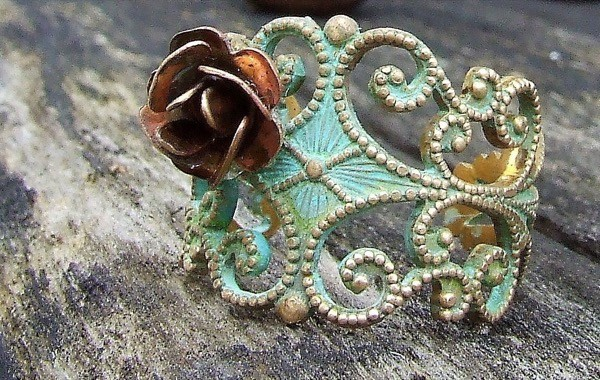 giveaway-save-spend-splurge-verdigris-copper-rose-ring-4
