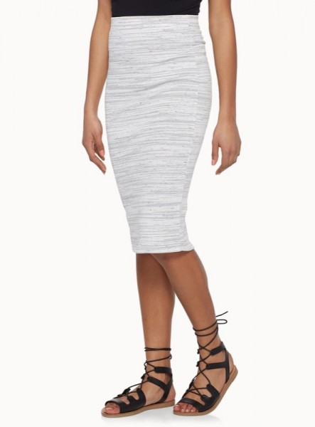 simons-twik-heather-stripe-skirt