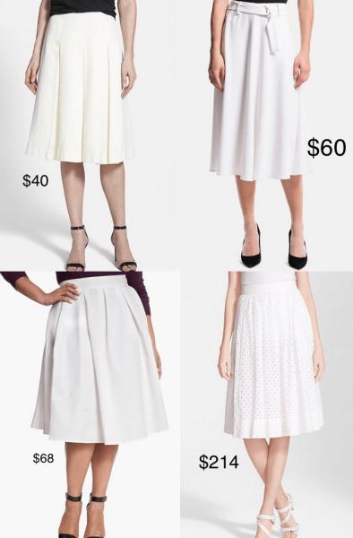 style-spy-white-midi-pleated-skirts-under-100