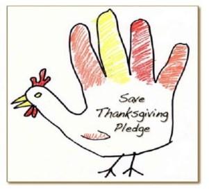 Save Thanksgiving Pledge Logo
