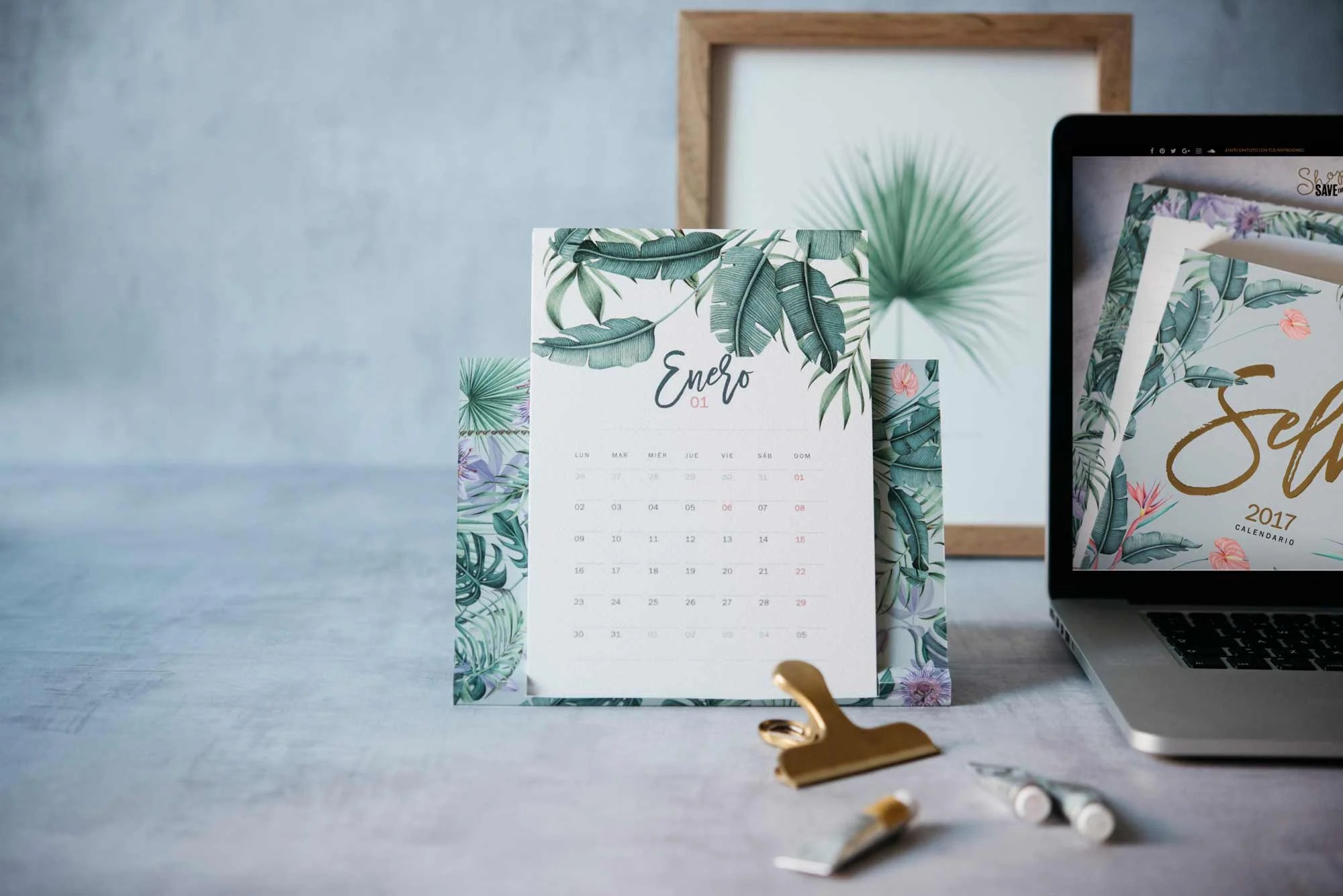 Resultado de imagen de calendario selva save the dates