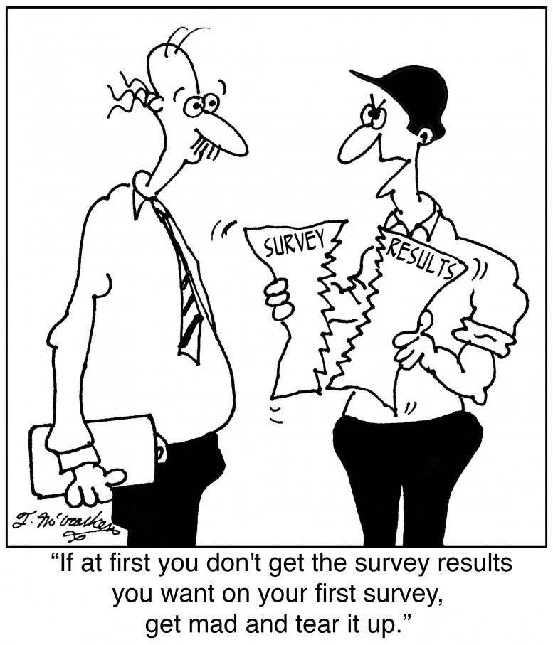 If at first you don't succeed, try revising the survey