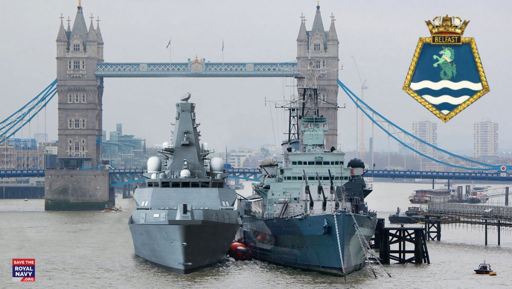 HMS Belfast (Type 26 frigate) and HMS Belfast (1938)