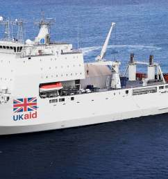 the plan for a british hospital ship gains political support [ 3552 x 1706 Pixel ]