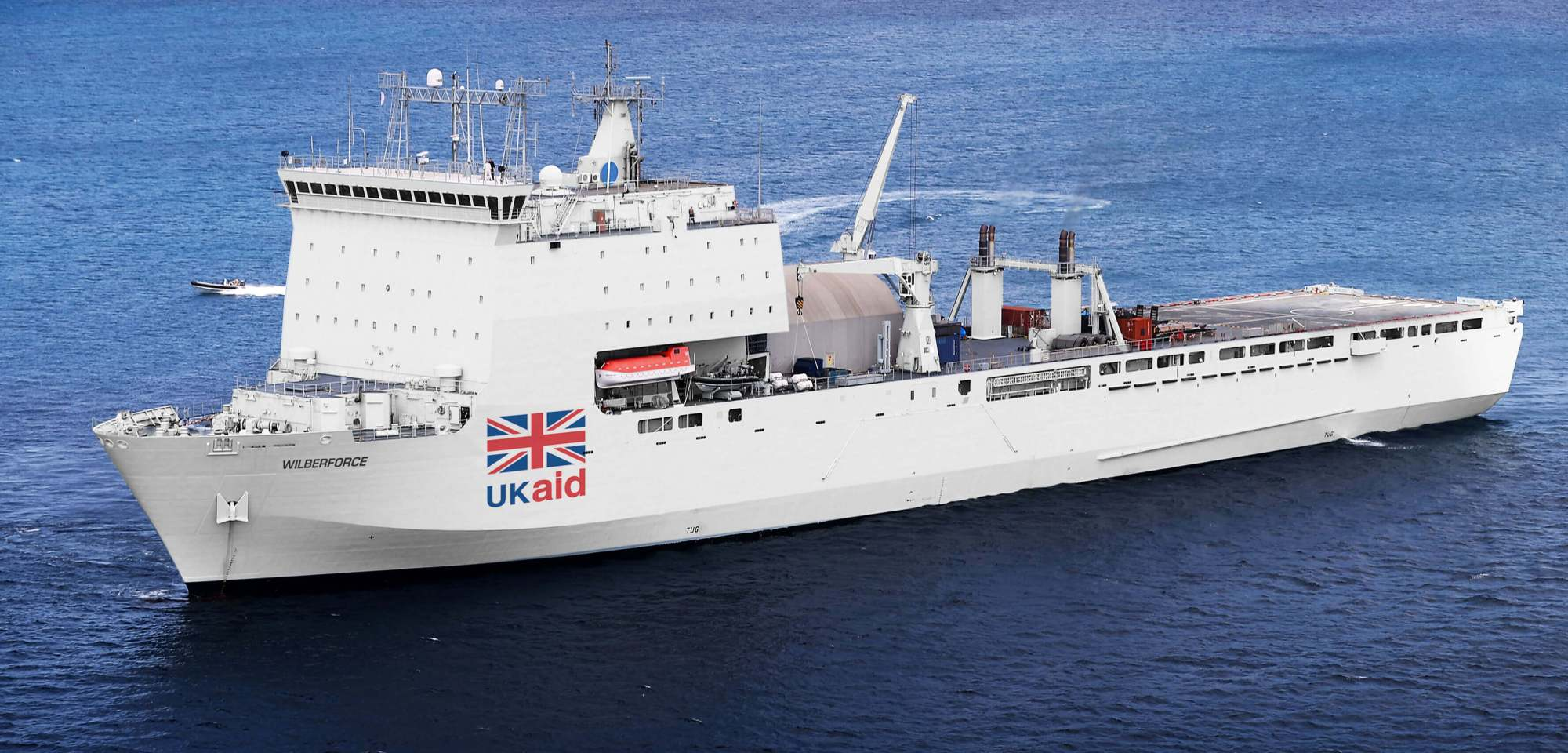 hight resolution of the plan for a british hospital ship gains political support