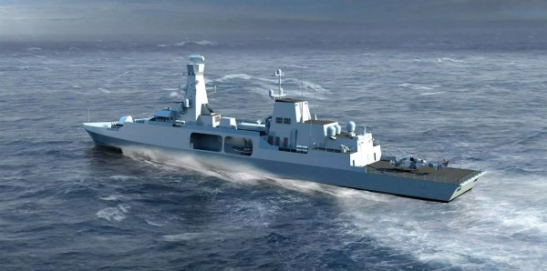 Bae Frigate Type 31 - Year of Clean Water