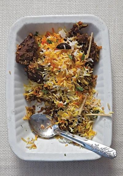 Pakistani Lamb Biryani