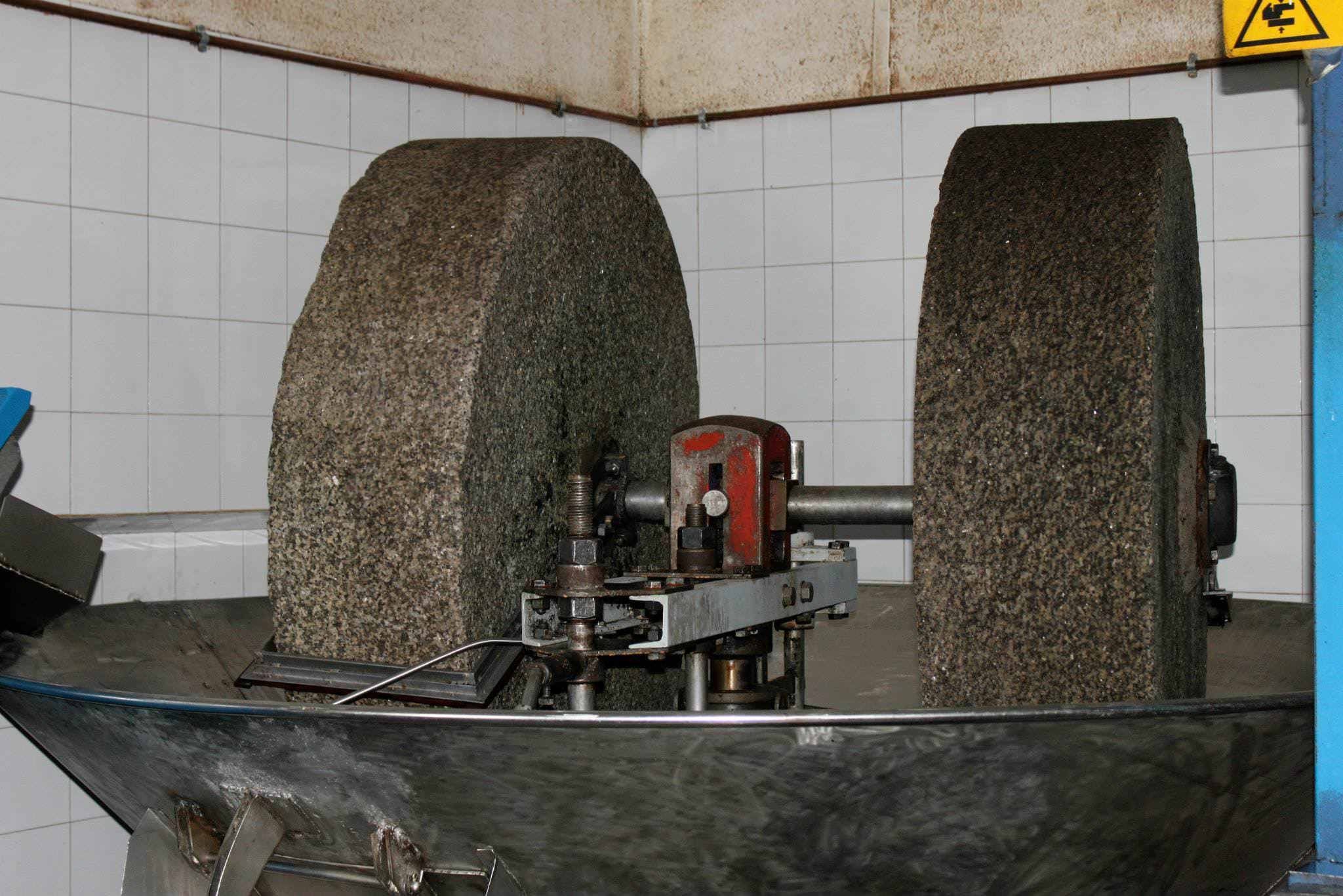 Ligurian traditional olive oil mill