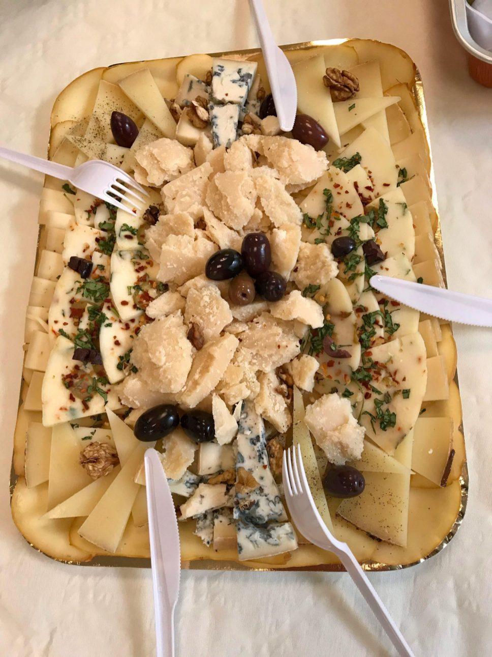 Piatto di formaggio