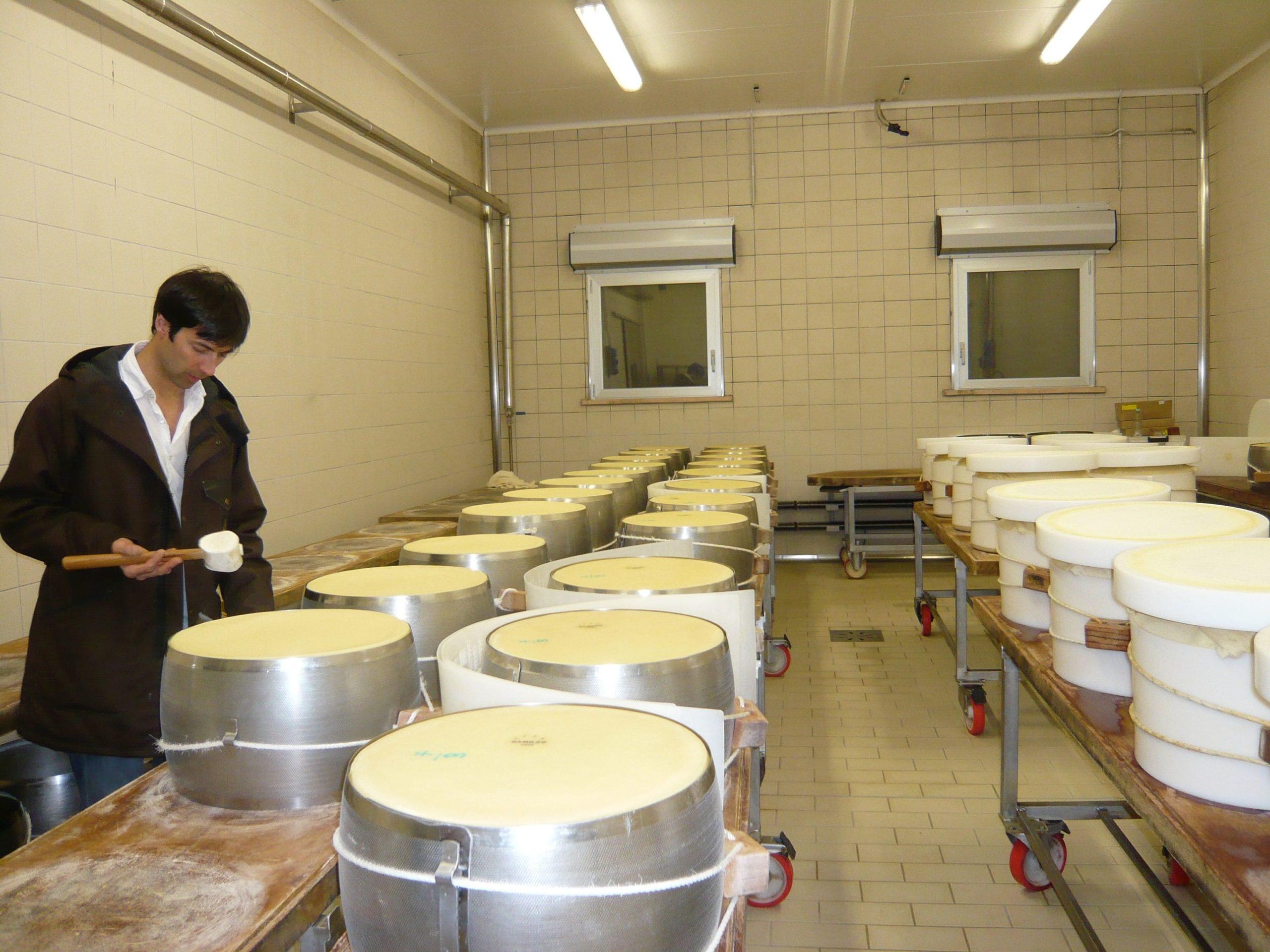 Fabbrica di Parmigiano Reggiano