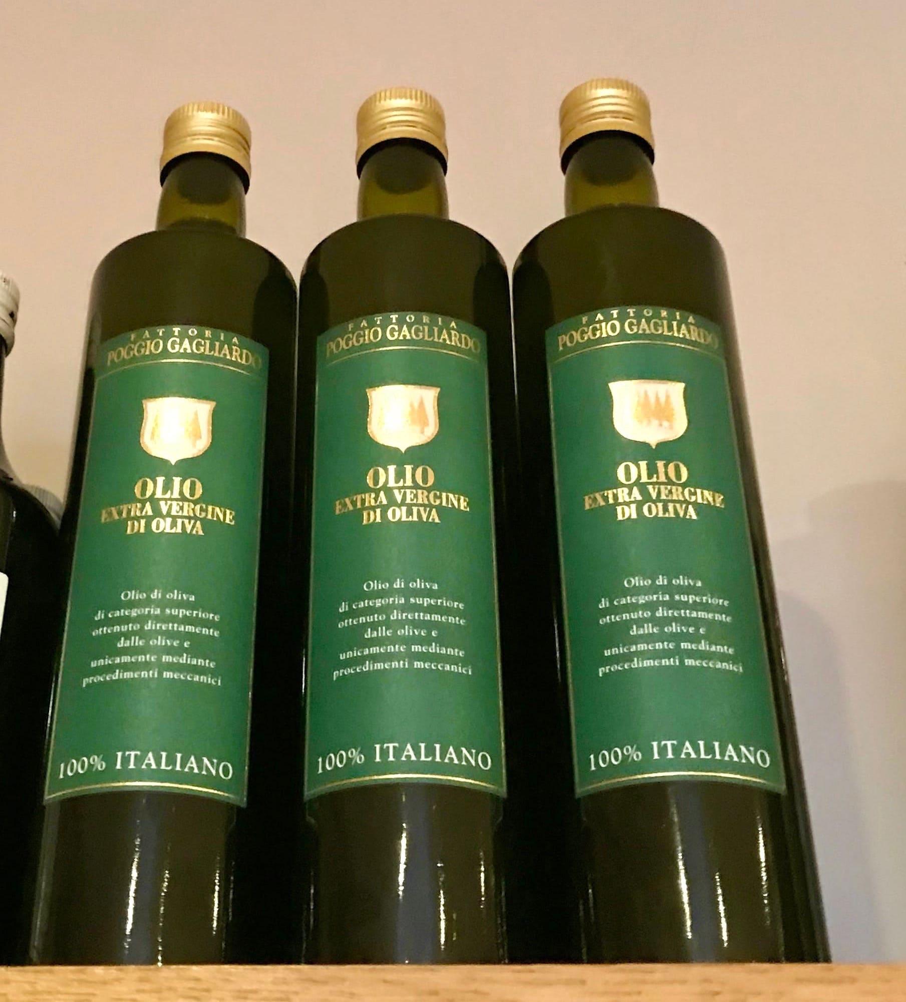 Olio d'oliva di Toscana
