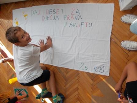 Katolička OŠ Šibenik - Daj 10 za dječja prava2
