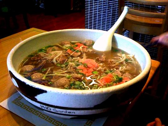 Pho Garden Challenge Certains restaurants vous offrent votre repas ?