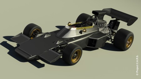 Project C.A.R.S. : Lotus 72