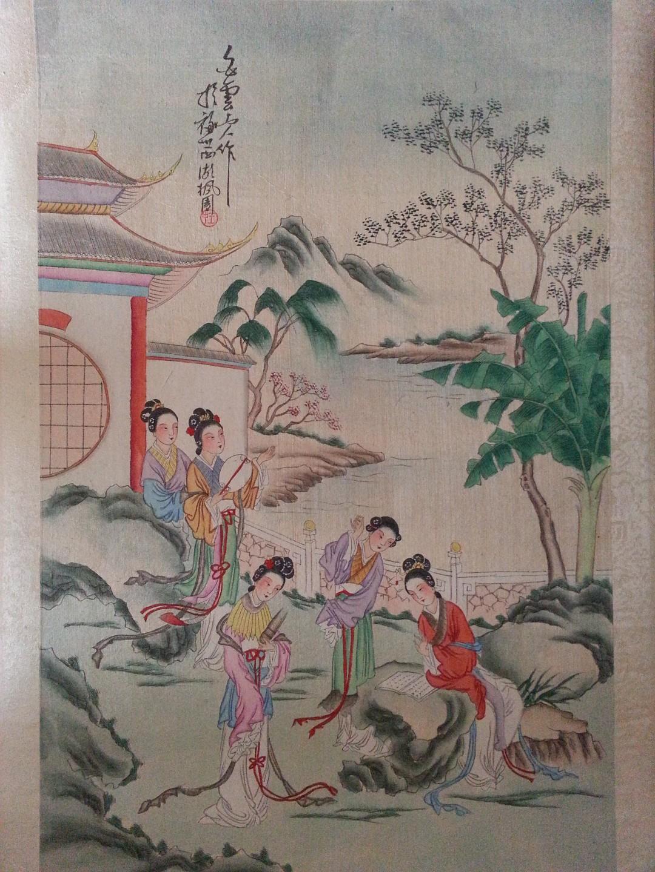 Coppia di quadri cinesi saviarte art design - Decor art quadri bari ...