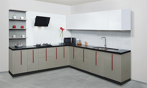 L Shaped Kitchen Design Explained By Saviesa A Modular Kitchen