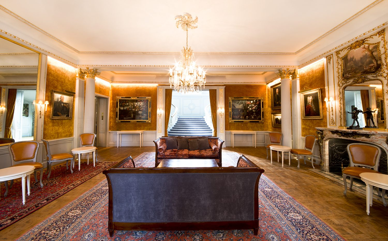 The Savile Club  Drawing room