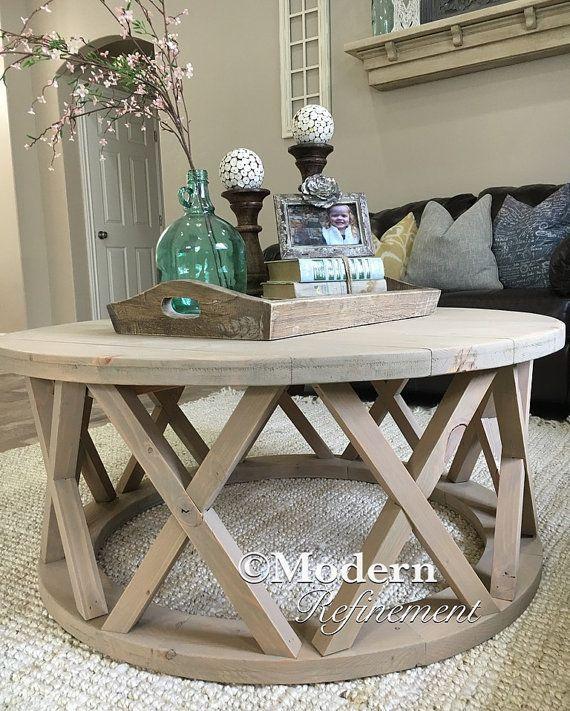 farmhouse coffee table decor ideas