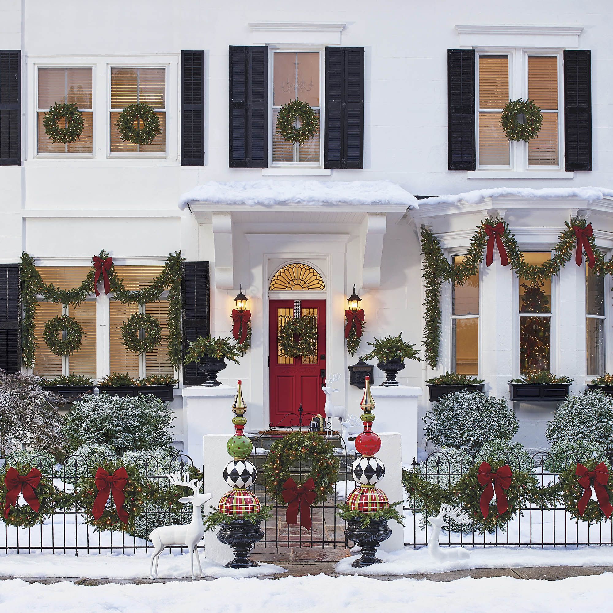 Outdoor Decoration For Christmas Ideas Savillefurniture