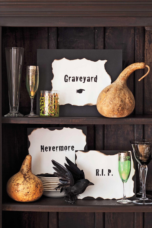 Unique Diy Halloween Decorations Savillefurniture