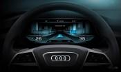 Audi h-tron quattro concept - digital cockpit