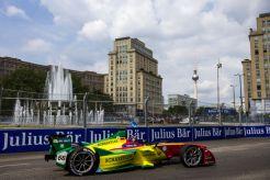 2015/2016 FIA Formula E Championship. Berlin ePrix, Berlin, Germany. Saturday 21 May 2016. Daniel Abt (GER), ABT Audi Sport FE01 Photo: Zak Mauger/LAT/Formula E ref: Digital Image _79P2639