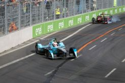 The Race. Berlin e-Prix, Alexanderplatz, Germany, Europe. Saturday 21 May 2016 Photo: Adam Warner / LAT / FE ref: Digital Image _A8C2362