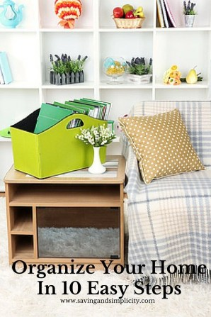 organize your home easy steps