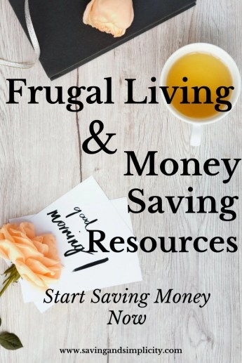 Are you looking for ways to save money on your home expenses?  Start saving money now with these money saving and frugal living recommendations.