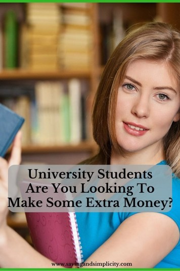 university students make money