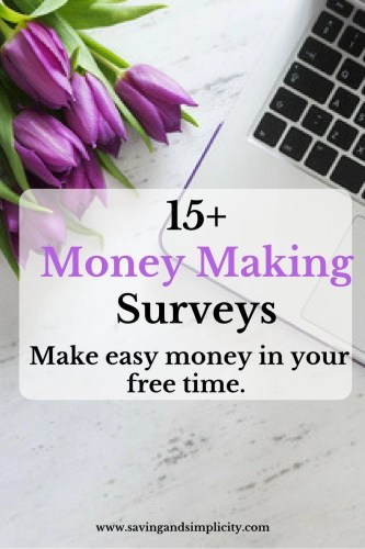 money making surveys