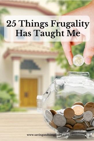 frugality teach