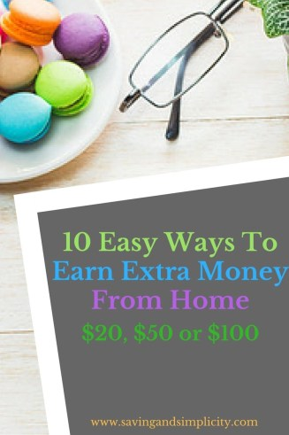 Are you looking to earn an extra $20 for the weekend or an extra $100 for groceries or do you need an extra income from home to help cover the bills?
