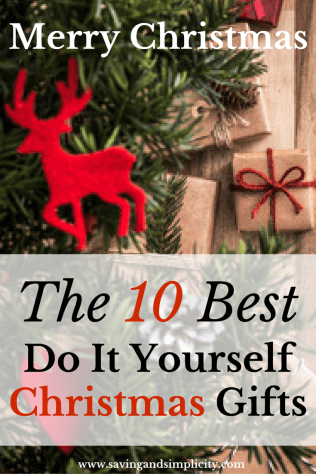 Christmas gifts, DIY, do it yourself