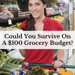 Could You Survive On A $100 Grocery Budget?
