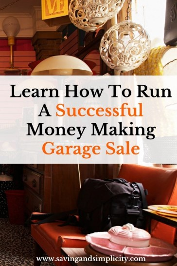 The best way to get rid of your unwanted stuff and make money is host a garage sale. Learn how to run a successful money making garage sale. Tips & tricks.