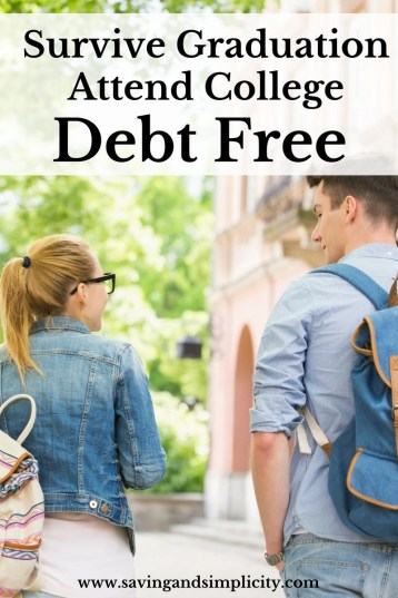 No one graduates high school and heads to college wanting debt. But it happens... Learn how to attend college debt free, earn scholarships and save money.