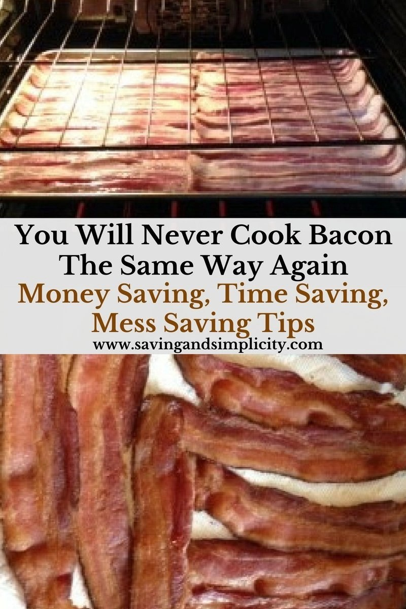 You Will Never Cook Bacon The Same Way Again No More Splatter Mess, No  Microwave