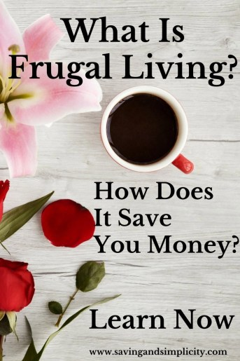 Frugal living what is it actually? It is the planned action to spend less and live well. Living frugally can save you hundreds of dollars. Learn how.