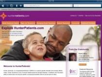 HunterPatients.com main page