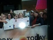 Hunter in Focus at the Today Show