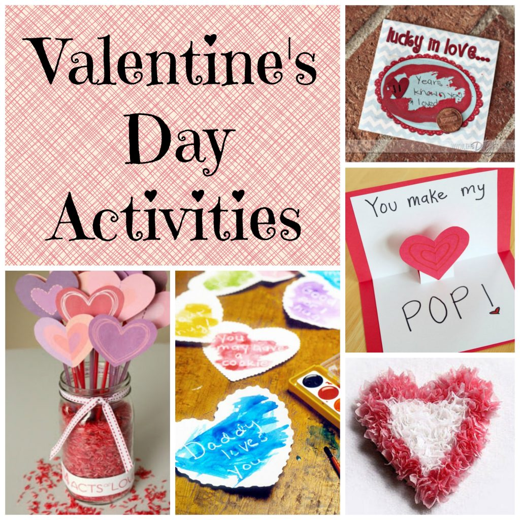 Activities For Valentines Day