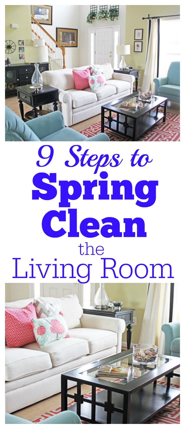 clean living room connected to kitchen paint ideas 9 steps spring the saving cent by cleaning