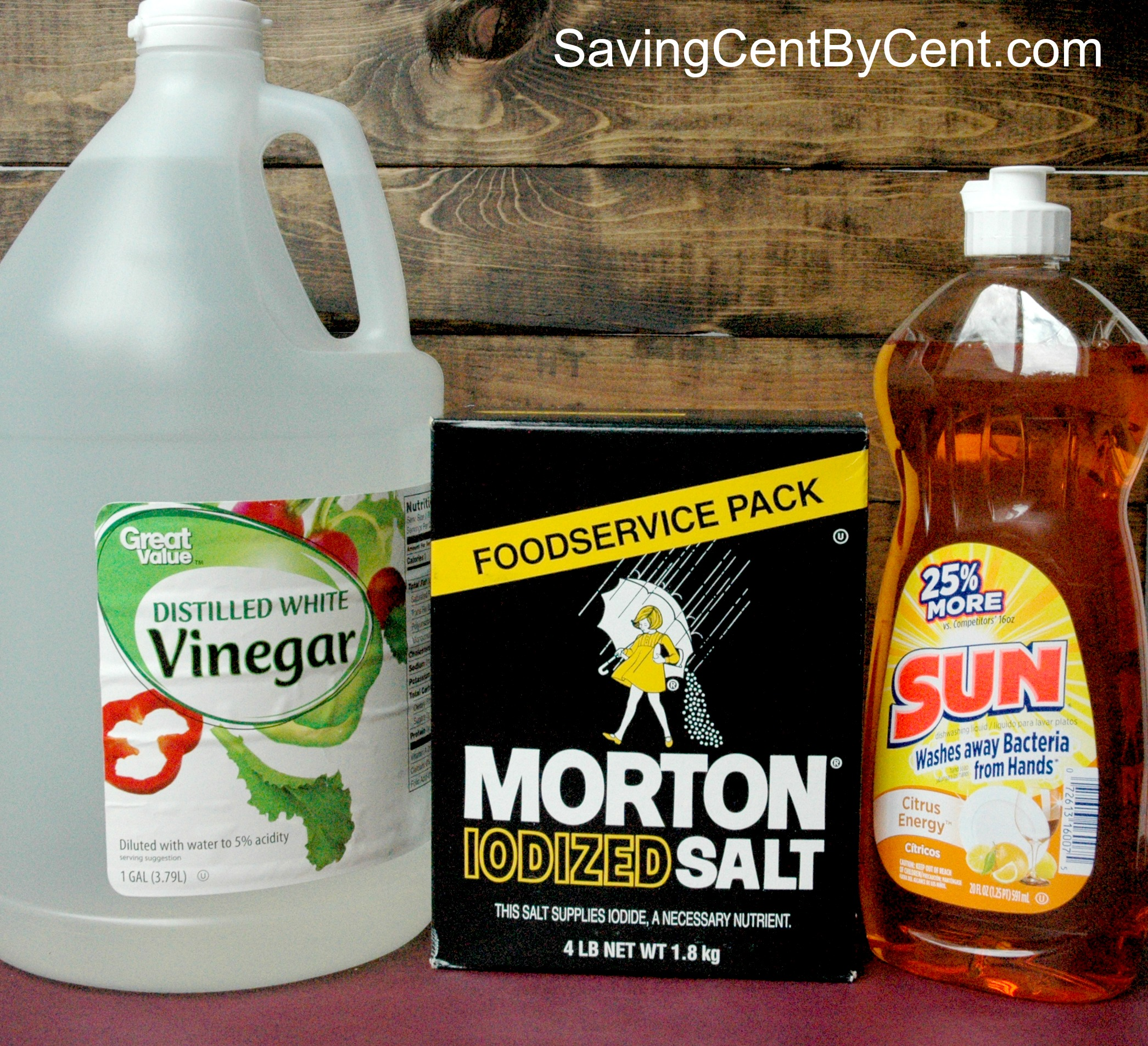 3 Ingredient Homemade Weed Killer Saving Cent By Cent
