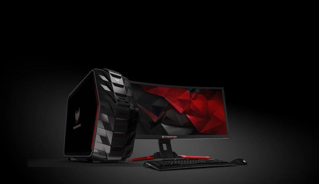 Acer Predator G6-710 DT & Predator monitor